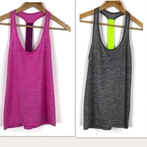 Bundle of 2 Old Navy Active Loose Ample Tanks
